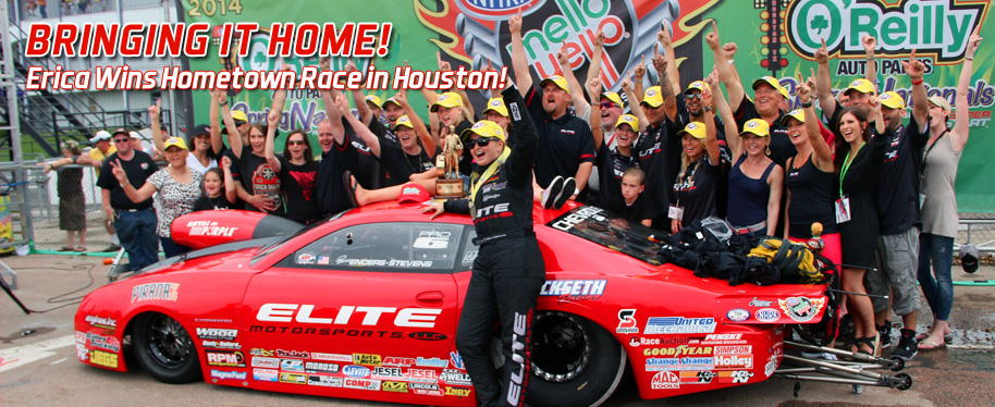 Erica Enders-Stevens Captures Hometown Pro Stock Win in Houston