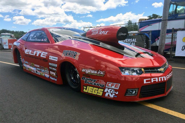 Erica Enders-Stevens at New England Dragway