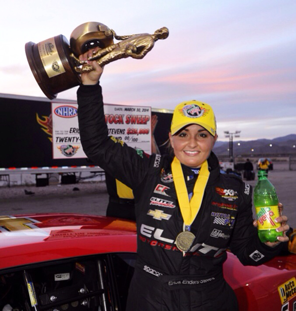 Erica Enders-Stevens wins in Bristol