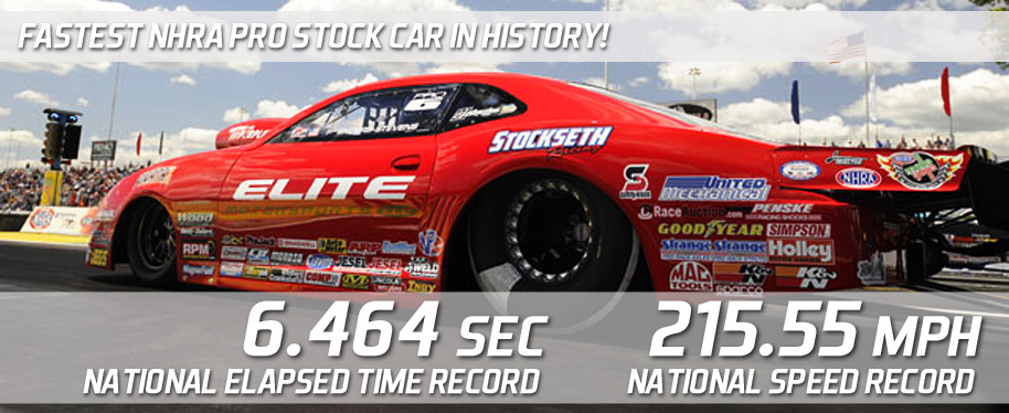 National-Record Run Places Enders-Stevens 2nd on Englishtown's Pro Stock Grid
