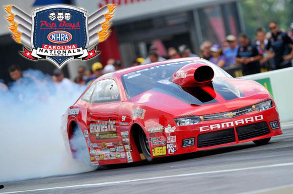 Erica Enders-Stevens is provisionally qualified number 1 after Friday's rounds at zMAX Dragway