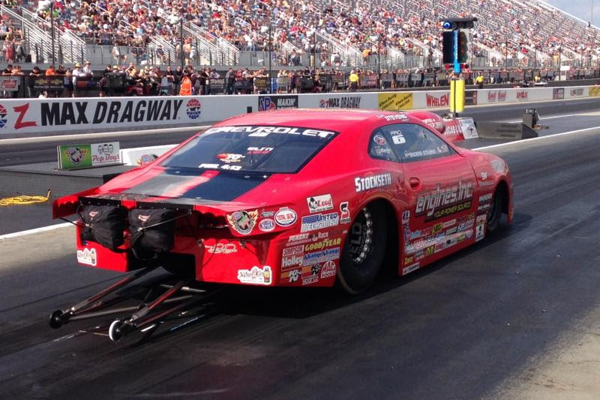 Erica Enders-Stevens qualifies number 1 in Charlotte