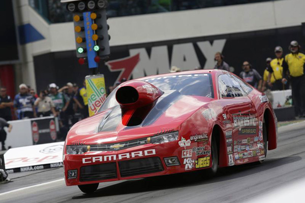 Erica Enders-Stevens is looking to double up in Dallas after Charlotte cancellation