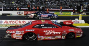 Enders-Stevens beats Jason Line for 2014 Pro Stock Championship