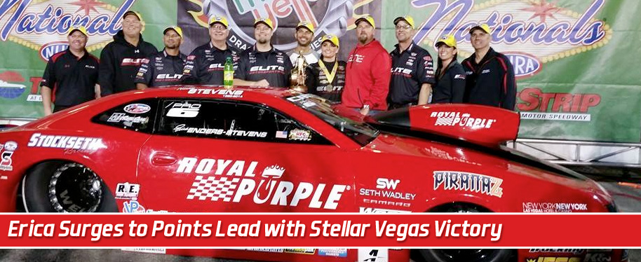 Enders-Stevens surges to Pro Stock points lead with stellar Vegas victory