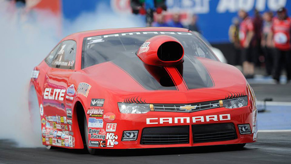 Erica Enders-Stevens qualifies number 1 in Phoneix