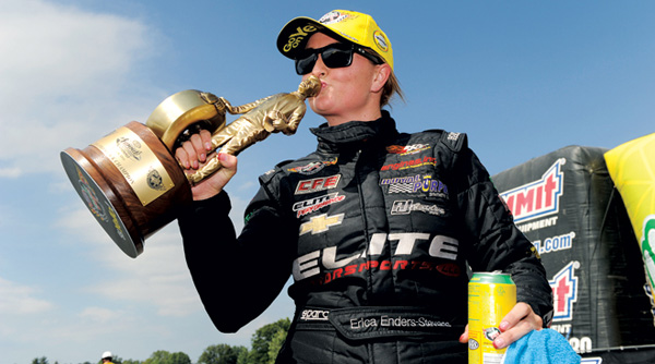 Erica Enders-Stevens Racer of the Year