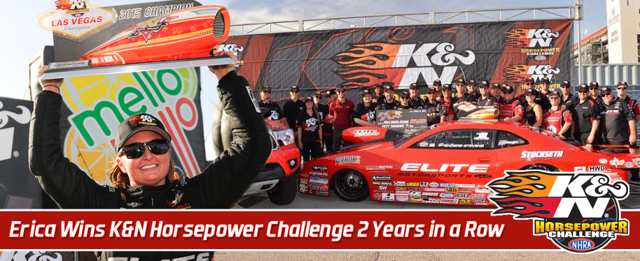 Erica Enders-Stevens storms to second consecutive K&N Horsepower Challenge victory