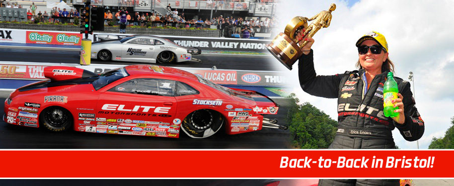 Erica goes back-to-back in Bristol
