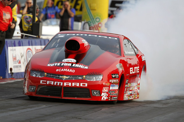 Erica Enders qualifies number 1 in Norwalk 2015