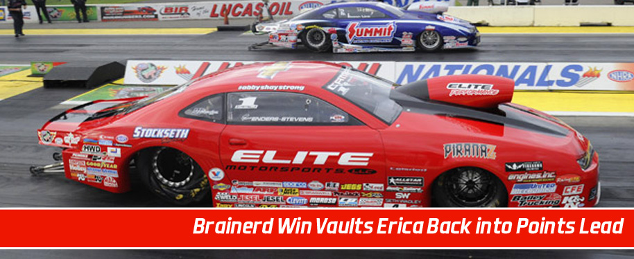 Erica Enders vaults back to Pro Stock points lead with fifth victory of 2015