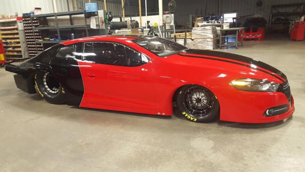 Erica Enders' new 2016 Dodge Dart