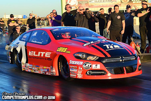 Erica Enders tests her new Dodge Dart | Competition Plus