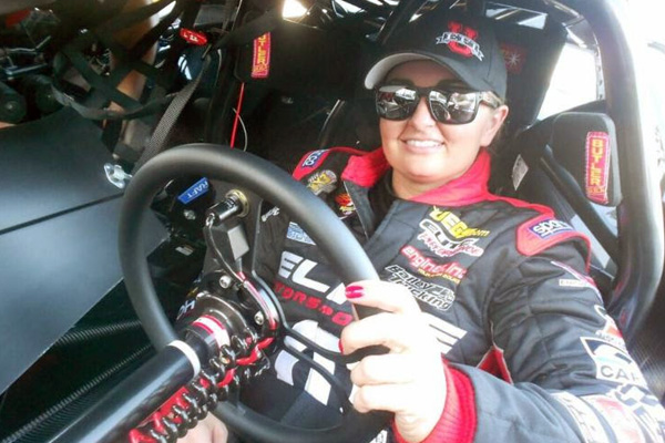 2016 Phoenix NHRA marks Erica Enders' 200th race