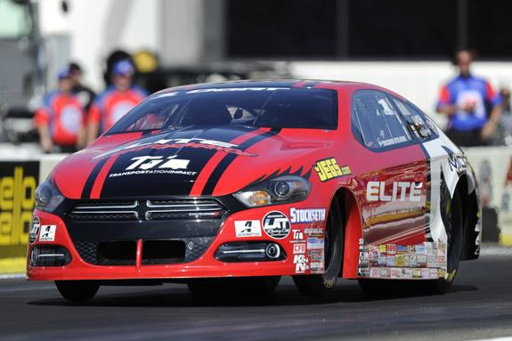 Erica Enders qualifying Pomona 2016