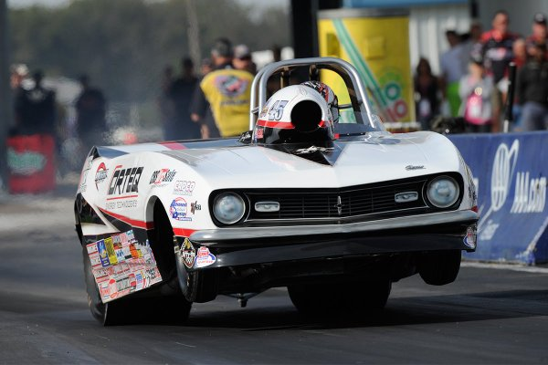 Erica Enders to race ORTEQ Super Gas roadster