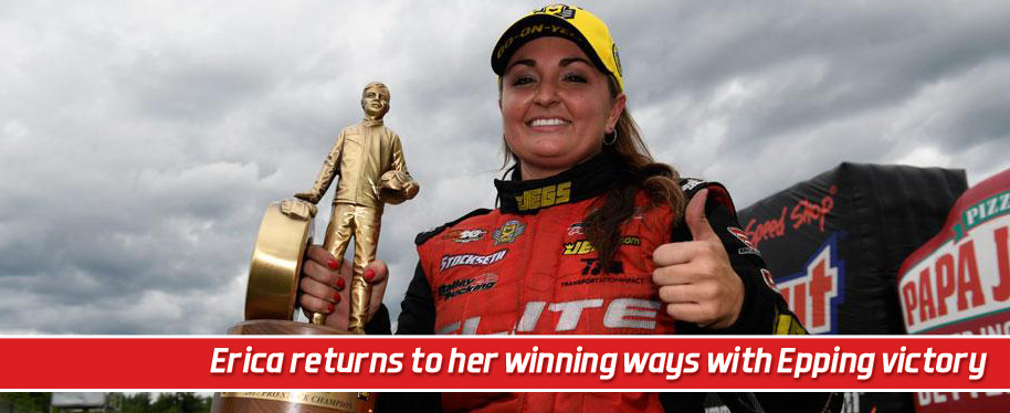 Erica Enders returns to her winning ways with impressive Epping victory