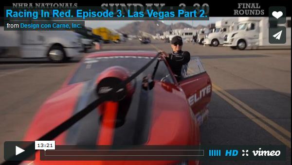Racing in Red Episode 3 Las Vegas Part 2